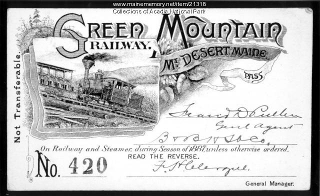 Green Mountain Railway Pass