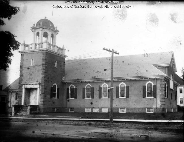 Sanford Unitarian Church, ca. 1920