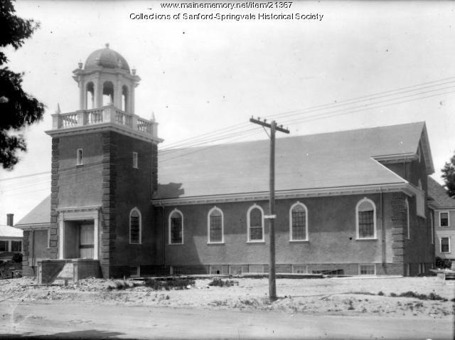 Sanford Unitarian Church, ca. 1918