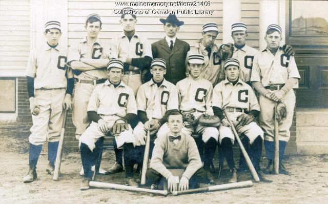 Camden Baseball Team, ca. 1880