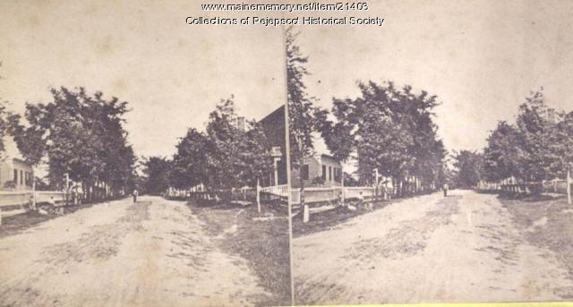 Pleasant Street, Brunswick, ca. 1880
