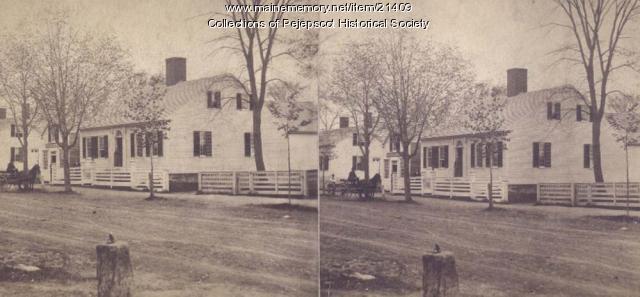 Snow's Bakery, Brunswick, ca. 1880