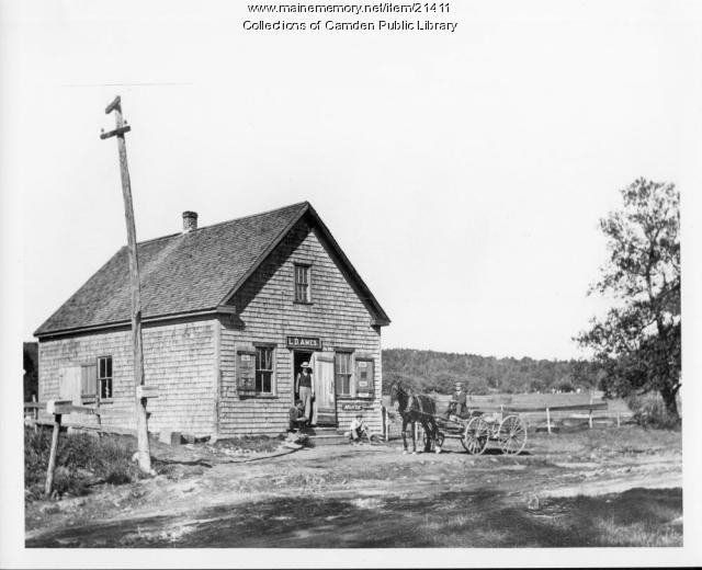 L. D. Ames General Store, Lincolnville, 1905
