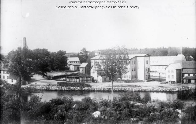 Sanford Mills, Unusual View, early 1900s