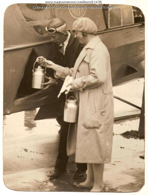 Captain Yancey, Thea Rasche, Old Orchard, 1929