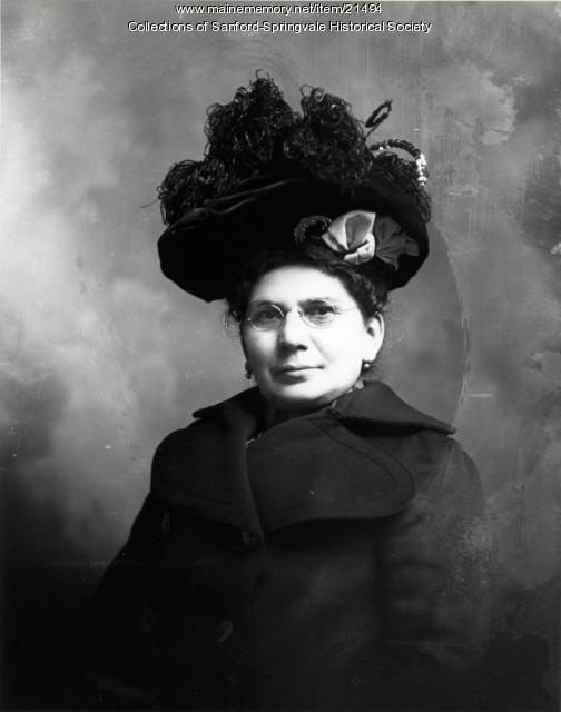Alice Marion (Broggi) McCarthy, Sanford