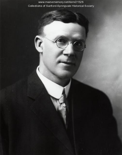 Louis F. Trafton, Druggist, Springvale