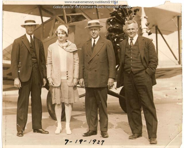 Harry M. Jones, H. Gifford, Old Orchard Beach, 1927