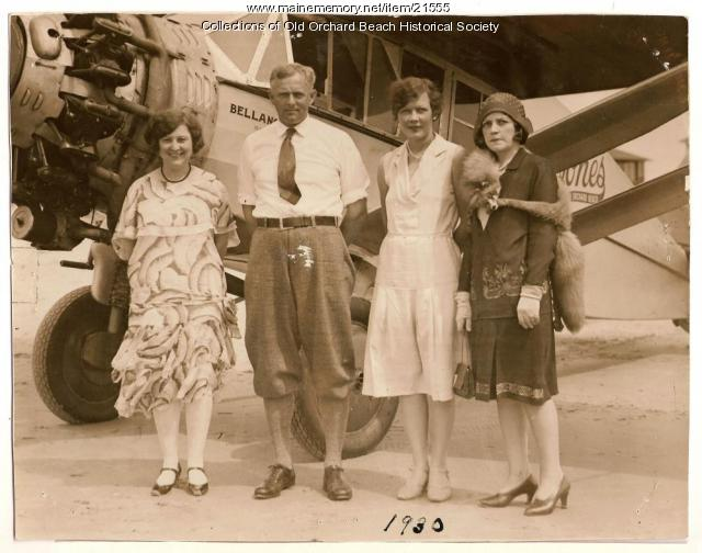 Harry M. Jones and passengers, 1930