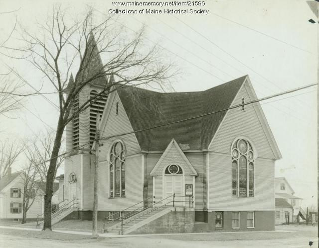 Elm Street Church, South Portland, 1921