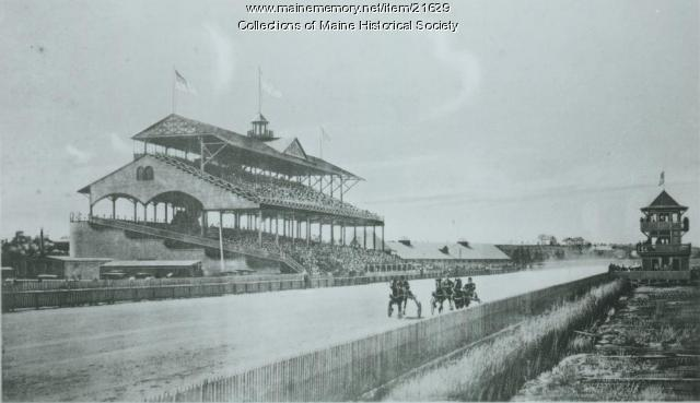 Rigby Trotting Park, South Portland, ca. 1895