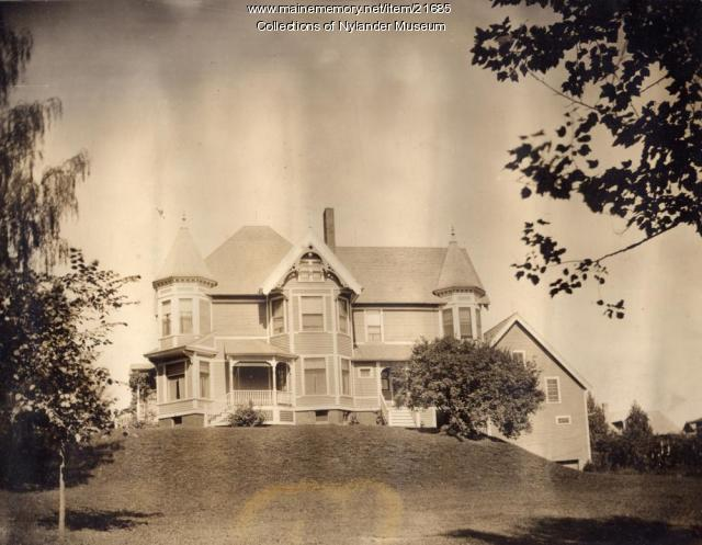 Olof T. Pierson home, Caribou, ca. 1922
