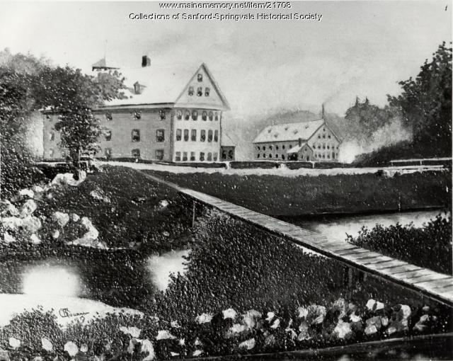 Sanford Mills, late 1860s