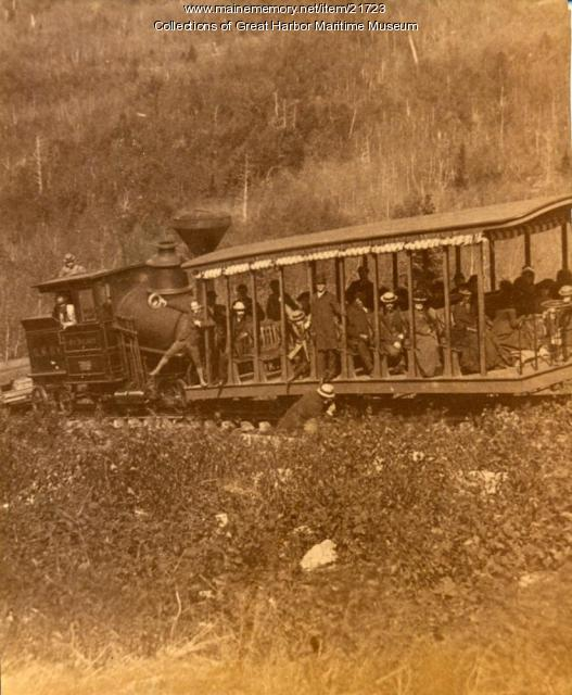 Green Mountain Rail Road Train and Car
