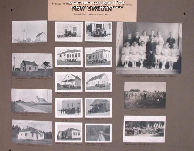 Nylander samlat 7, New Sweden, 1922