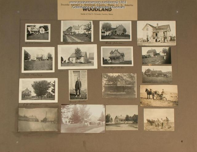 Nylander samlat 13, Woodland, 1922