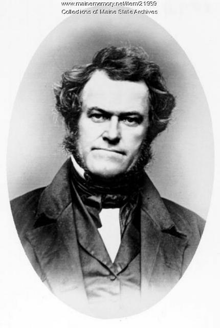Virgil Delphine Parris, Buckfield, ca. 1843