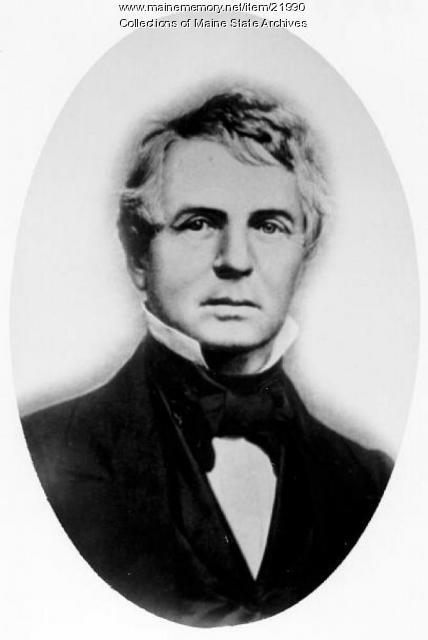 John W. Dana, Fryeburg, 1844
