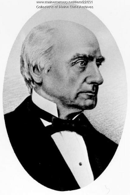 Lot M. Morrill, Augusta, ca. 1856
