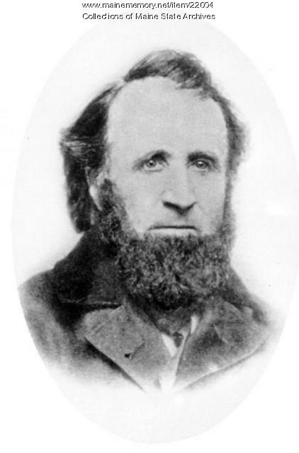 Seth Scamman, Saco, 1858