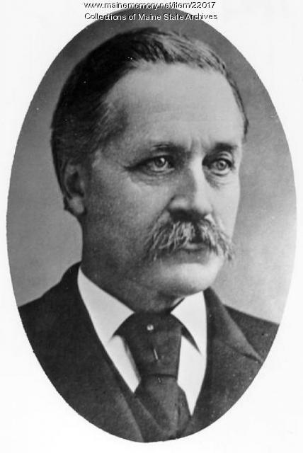 Reuben Foster, Waterville, 1872