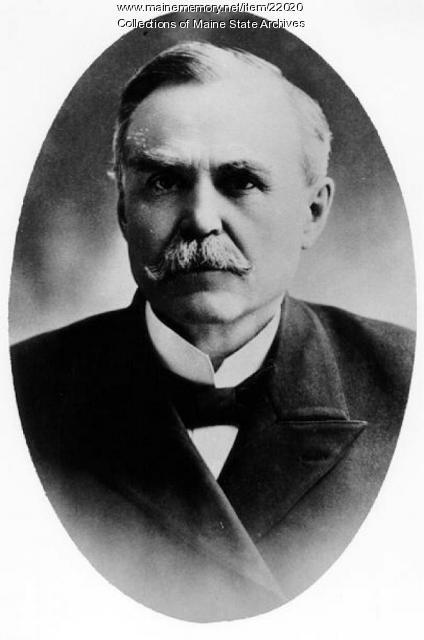 Edmund F. Webb, Waterville, 1875