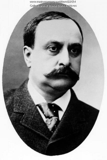 Hannibal E. Hamlin, Ellsworth, ca. 1902