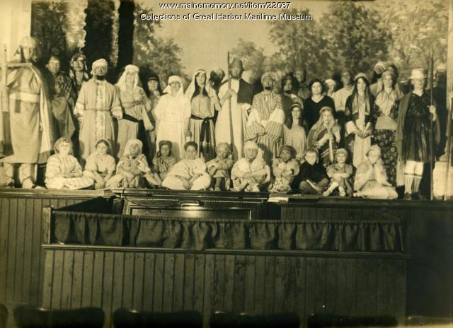 Christmas Pageant, Mount Desert, ca. 1925