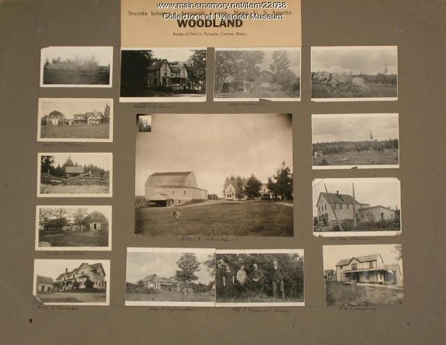 Nylander samlat 3, Woodland, 1922