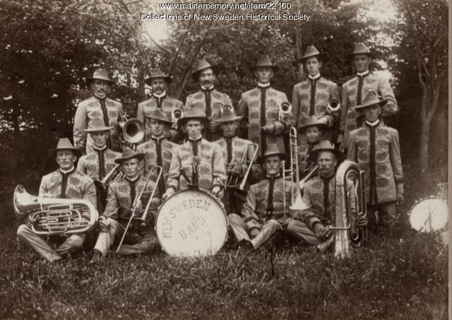 New Sweden Band, circa 1910