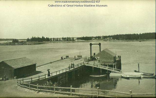 Steamboat Wharf at Seal Harbor