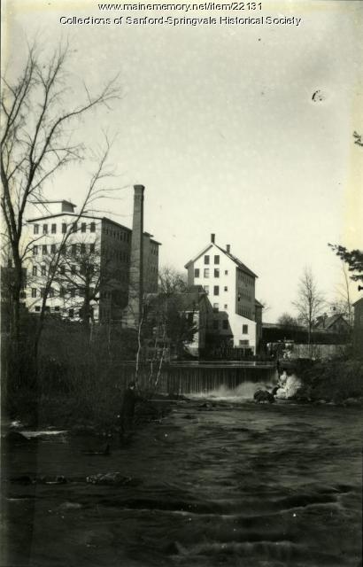 Shoe Factories, Springvale, ca. 1898