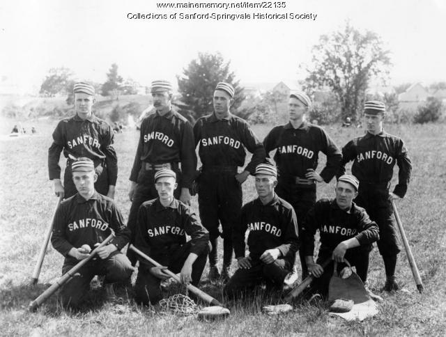 Sanford Baseball Team, ca. 1892