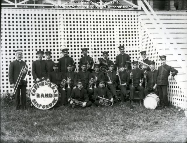 Sanford's Maine National Guard Band, ca. 1905