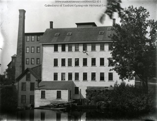 Shoe factories, Springvale, ca. 1900