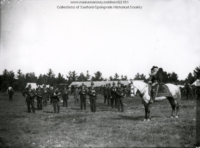 Colonel R. A. Kempton, band, Acton Fair, 1892