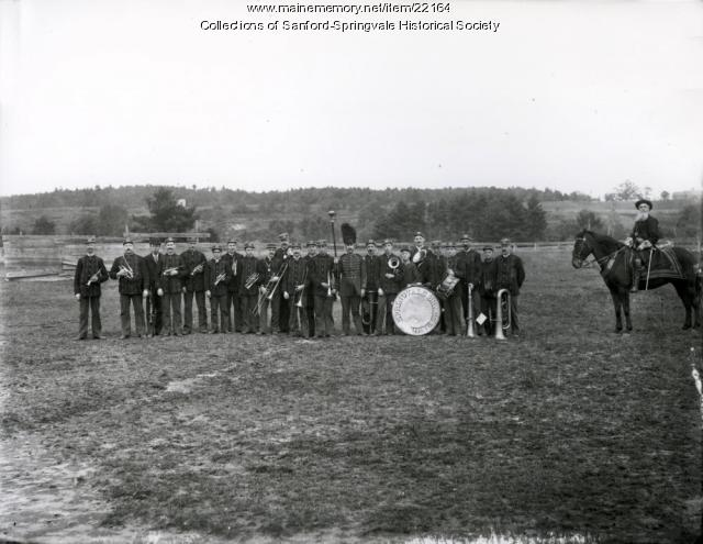 Springvale Brass Band, ca. 1890