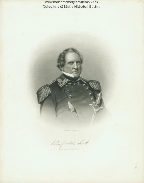 Winfield Scott, ca. 1850