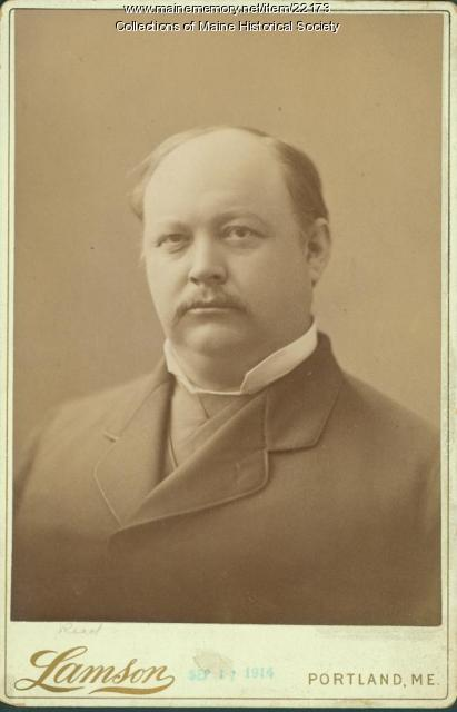 Thomas Brackett Reed, Portland, ca. 1895