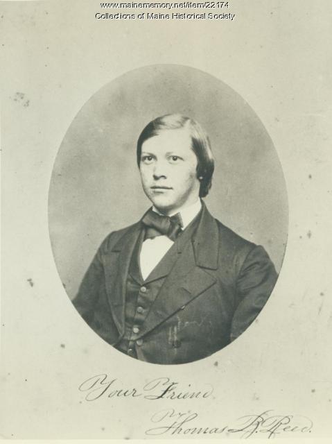 Thomas Brackett Reed, Portland, ca. 1855