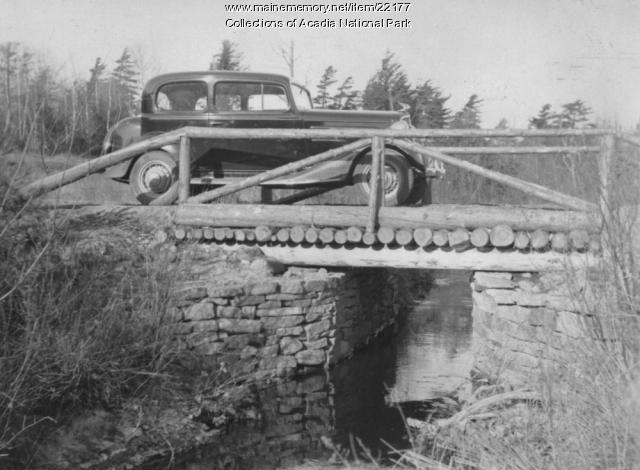 CCC vehicle, Sieur de Monts Springs, ca. 1934