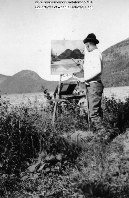 CCC work, Acadia National Park, ca. 1934