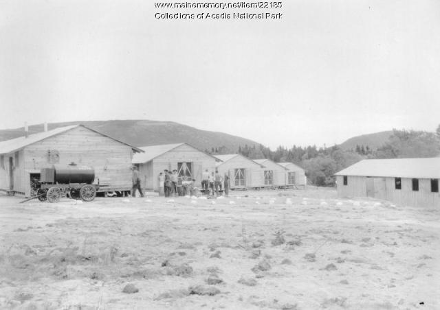 CCC Barracks at Acadia National Park
