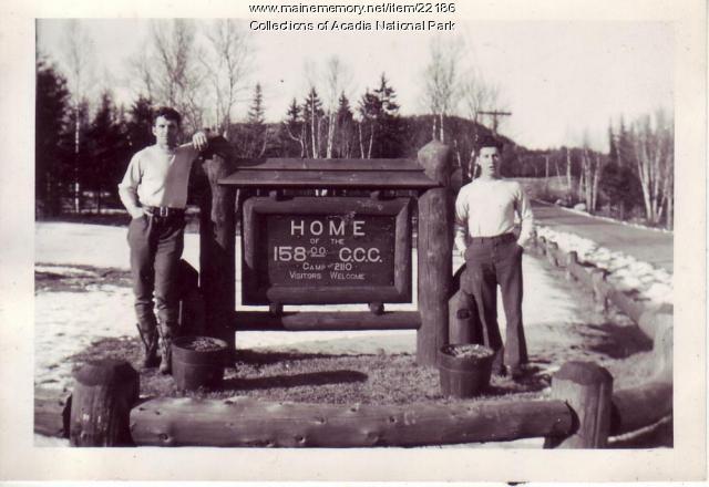 Southwest Harbor CCC Camp