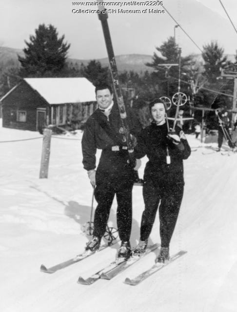 Dottie Moran, Pleasant Mountain, 1952