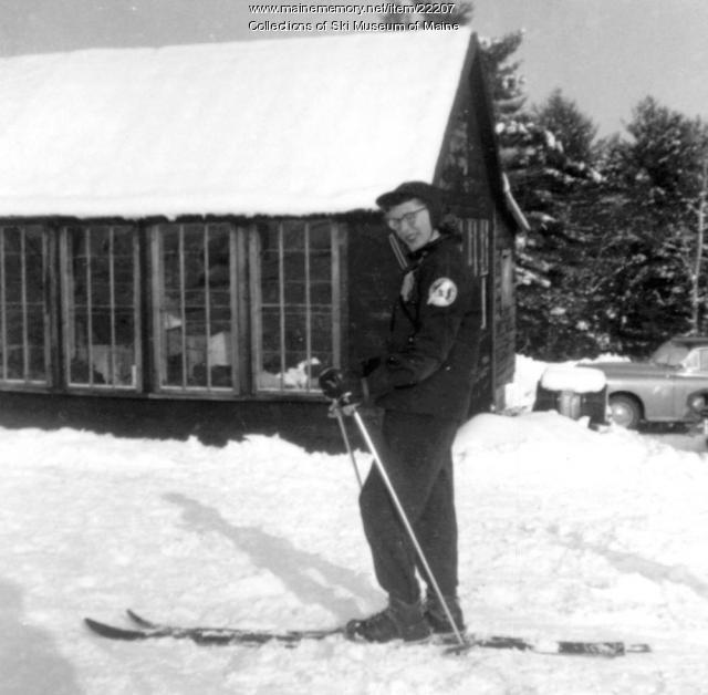 Ruth Grondin Foley, Pleasant Mountain, 1952