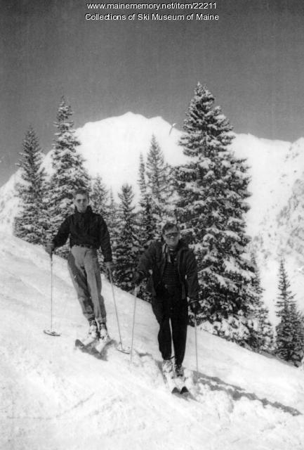George Foley, Bill Gorman, Alta, Utah, 1952