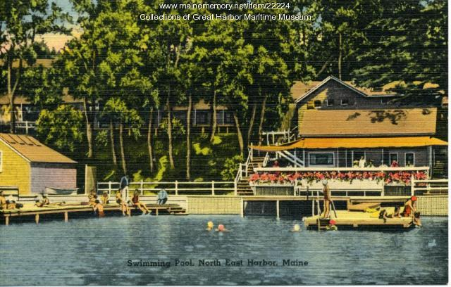Northeast Harbor Swimming Pool, ca. 1900