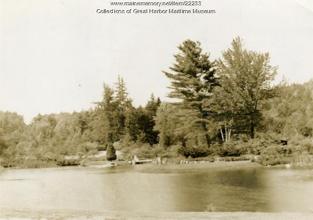 Asticou Azalea Gardens, Northeast Harbor, ca. 1959
