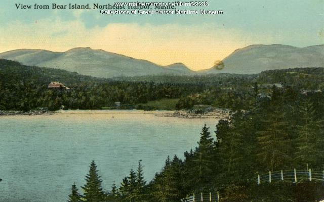 View from Bear Island, ca. 1895